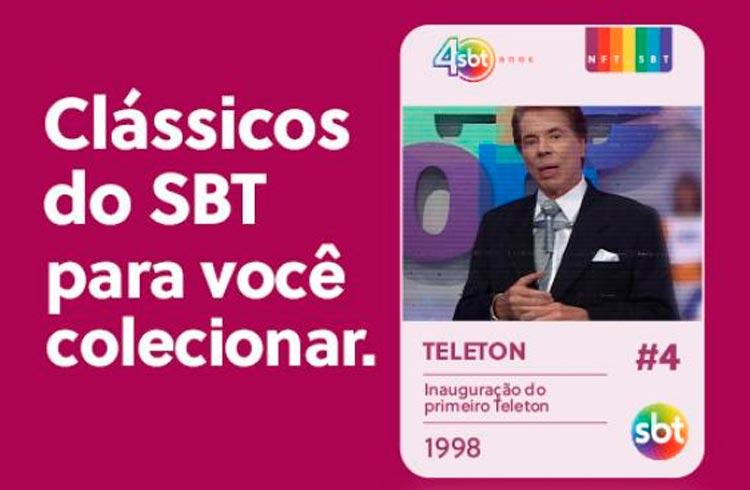 SBT vende NFTs de Silvio Santos para celebrar 40 anos da emissora