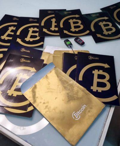Polícia afirma que milicianos passaram a investir em Bitcoins — Foto: Reprodução/TV Globo