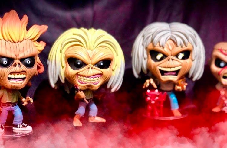 Funko lancará famoso mascote do Iron Maiden em sua primeira linha de NFTs