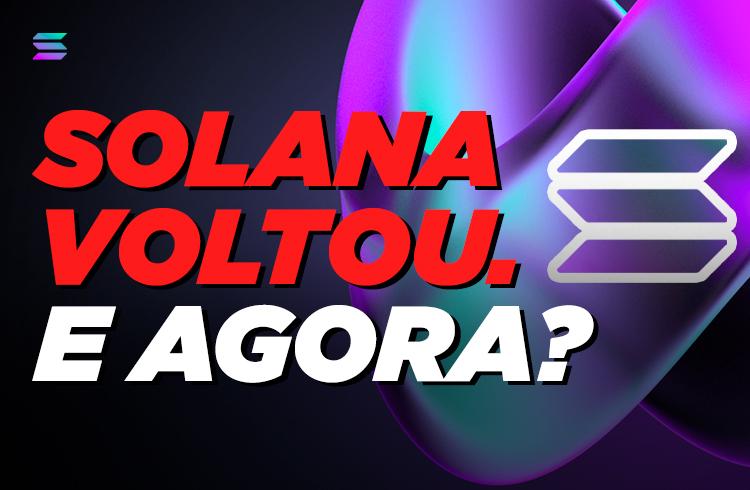 O que aconteceu com a Solana?