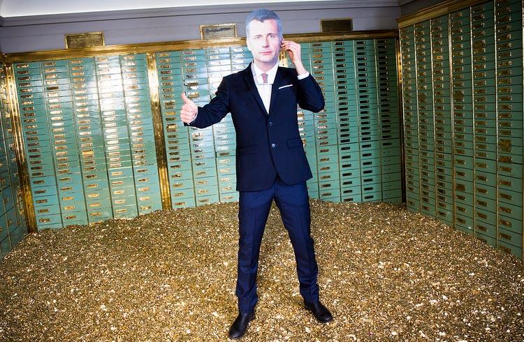 Prefiro ter dólares do que ouro ou Bitcoin, disse vice-presidente do conselho da BlackRock