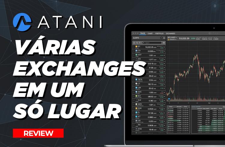 ATANI: Plataforma completa de trades em criptomoedas