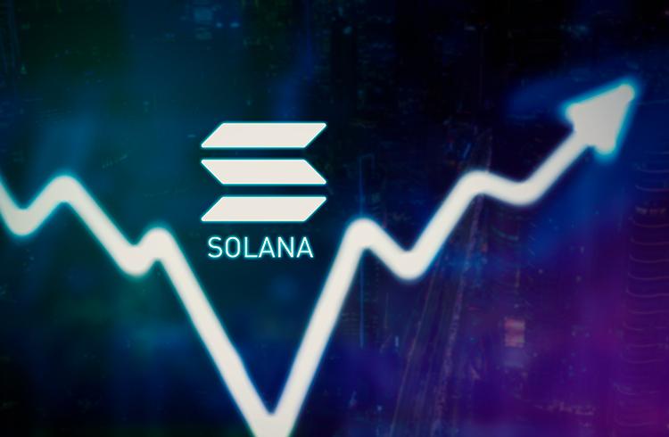 Bitcoin cai abaixo do primeiro nível de resistência e Solana acumula alta de 25%