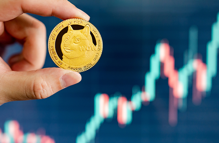 Bitcoin tem alta histórica, atingindo US$ 55 mil e Shiba INU sobe 80% em 24 horas