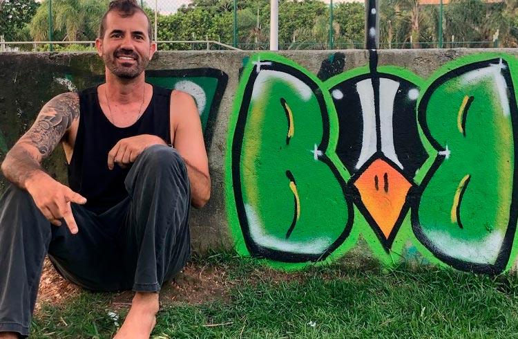 Skatista Bob Burnquist lança coleção de NFTs em plataforma brasileira
