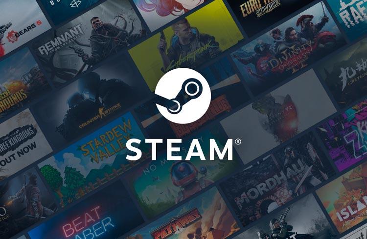 Steam proíbe jogos que permitem NFT e negociação em criptomoedas
